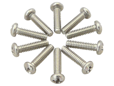 0-80*1/4 inch Pan Head Phillip Stainless Steel Screw