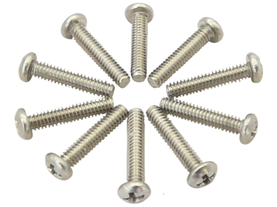 0-80*5/16 inch Pan Head Phillip Stainless Steel Screw