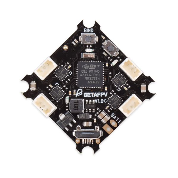 F4 1S Brushless Flight Controller (Frsky RX+OSD)