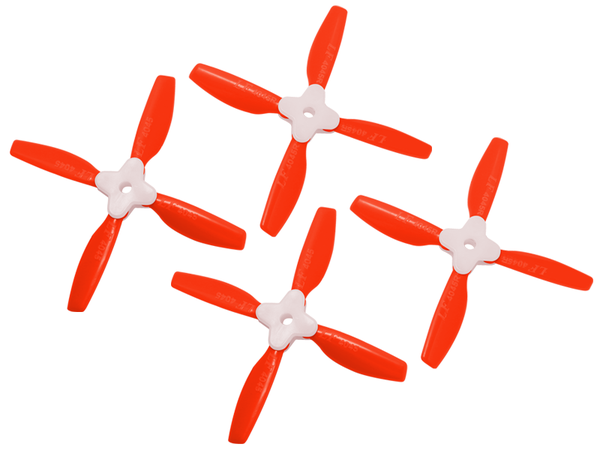 4045 4 Blades Folding Propeller (2CW+2CCW) (Red)