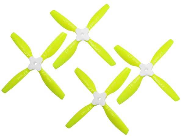 5045 4 Blades Folding Propeller (2CW+2CCW) (Yellow)