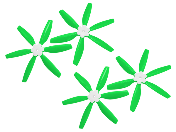 5045 6 Blades Folding Propeller (2CW+2CCW) (Green)