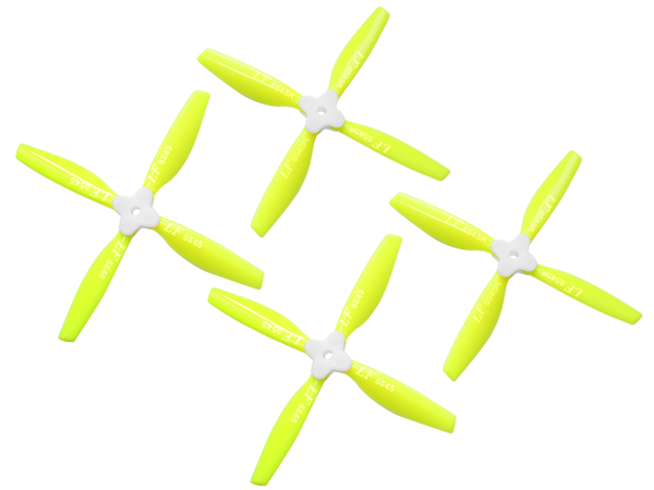 5545 4 Blades Folding Propeller (2CW+2CCW) (Yellow)