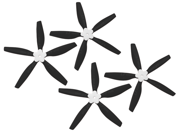 5545 5 Blades Folding Propeller (2CW+2CCW) (Black)