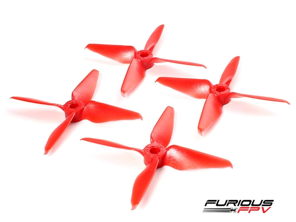 RageProp 3054-4 Race Edition Propeller (2CW - 2CCW) - Red