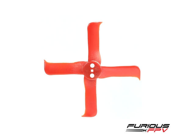FleekProp 2036-4 Propellers (2CW - 2CCW) - Red