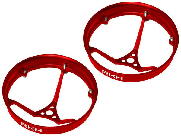 Rakonheli CNC AL 31mm Propeller Duct (2) (for 0603, 0703 Motor) (Red)
