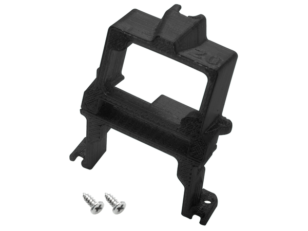 Rakonheli TPU 20 Degree FPV Camera Mount Set (Black) - EMAX Babyhawk