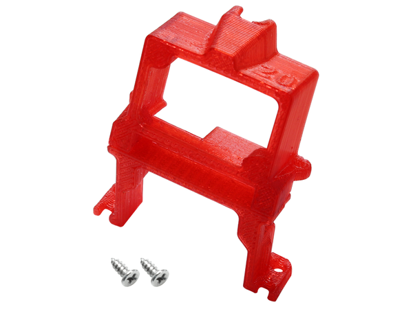 Rakonheli TPU 20 Degree FPV Camera Mount Set (Red) - EMAX Babyhawk