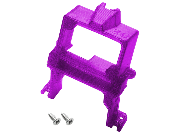 Rakonheli TPU 20 Degree FPV Camera Mount Set (Purple) - EMAX Babyhawk 85mm