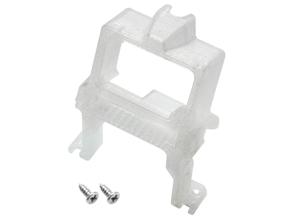 Rakonheli TPU 20 Degree FPV Camera Mount Set (White) - EMAX Babyhawk 85mm