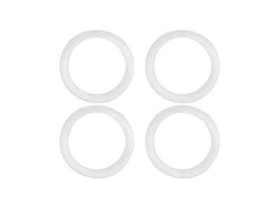 Rubber O-Ring 6x1mm (White)