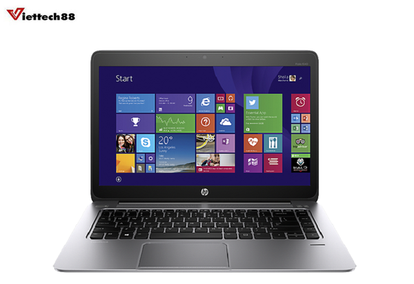 "Laptop HP EliteBook Folio 1040 G2 Core i5 5300U/ Ram 8Gb/ SSD 256Gb/ Màn 14"" FHD Touch"