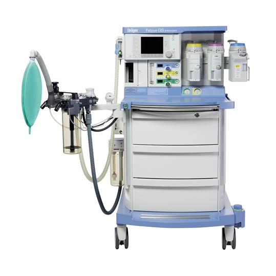 Anesthesia with electronic gas Fabius GS Premium