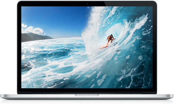 Macbook Pro Retina - MC975 / 15 inch / Core i7 / Ram 8GB / SSD 256GB/ Mới 99%