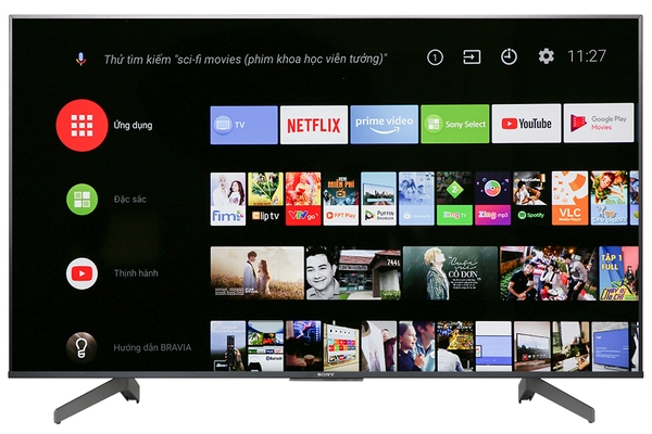 Android Tivi Sony 4K 55 inch KD-55X9500G Mẫu 2019
