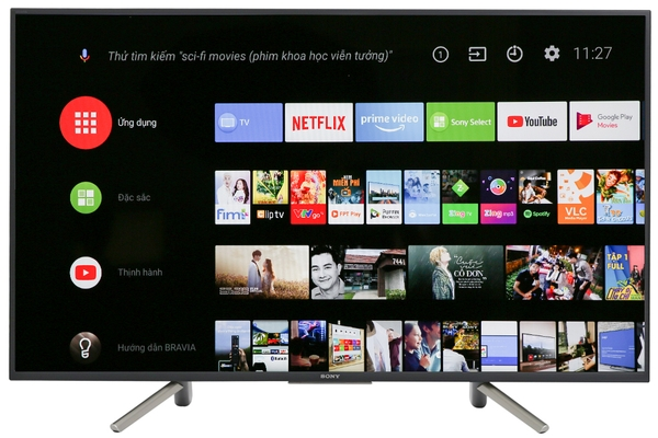 Android Tivi Sony 4K 55 inch KD-55X8500G/S Mẫu 2019