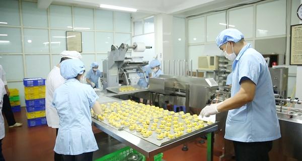 quy trình sản xuất được kiểm soát chặt chẽ