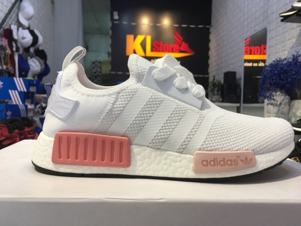 Adidas NMD R1 White Pink
