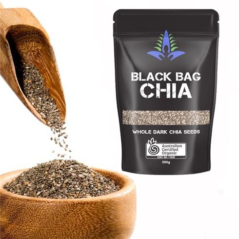Hạt Chia Black Bag 500g HapuMart
