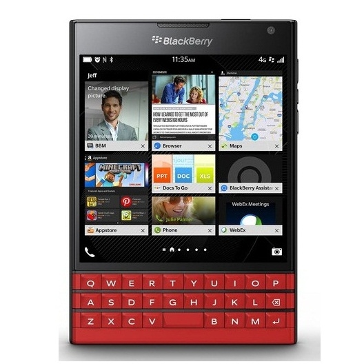Blackberry Passport Đỏ