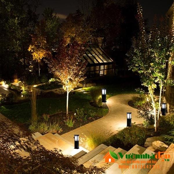 Thiết kế đèn sân vườn