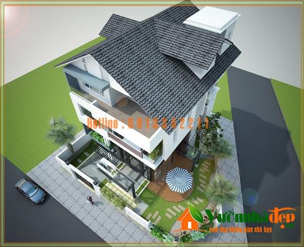 Thiết kế sân vườn biệt thự Vũng Tàu