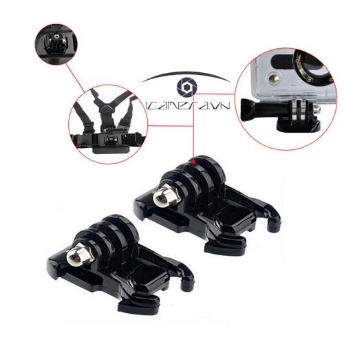 Mount Base Horizontal Surface Quick Release Buckle For Gopro Hero Ngoàm gài đa năng