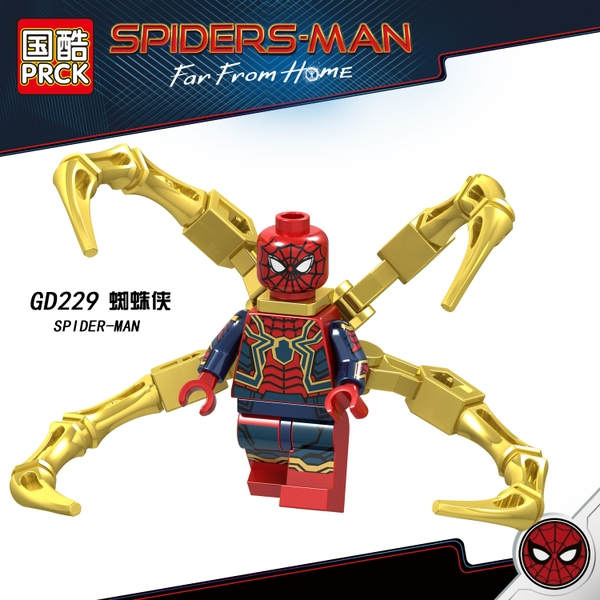 Minifigures Nhân Vật Spider Man Trong Far From Home GD229