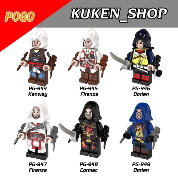 Lego Minifigures Sát Thủ Assassin - Assassin's Creed PG8020