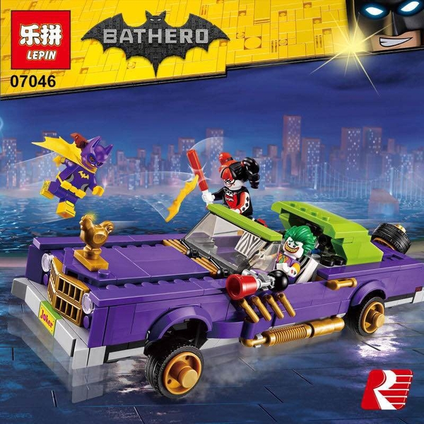 Bộ Lắp Ráp Lepin 07046 The Batman Movie The Joker Notorious Lowrider