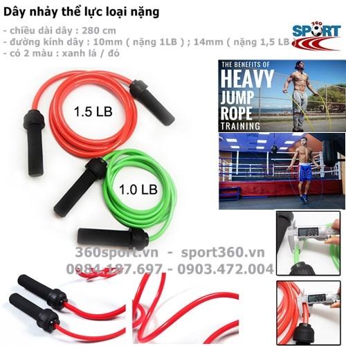 Thể thao 360 bán dây nhảy thể dục, dây nhảy thể lực, dây nhảy boxing, dây nhảy tốc độ giá rẻ tại Hà Nội và tpHCM