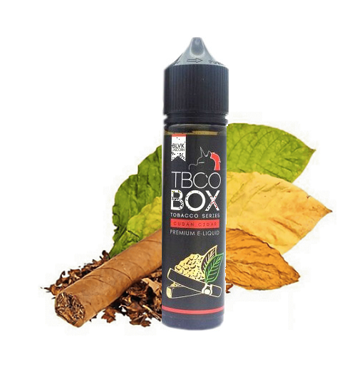 Tinh Dầu Vape BLVK TBCO-Box (3MG/60ML) - (TBCO-Cuban Cigar)