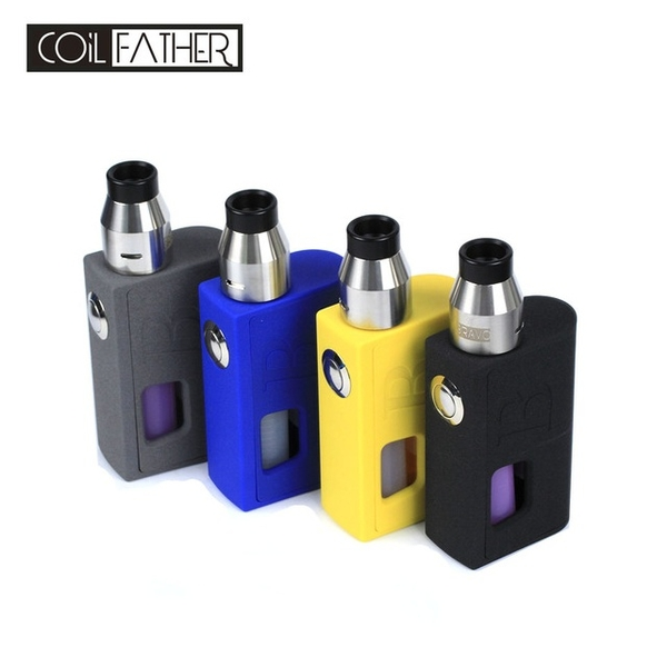 Box Squonk-Mod COIL FATHER Bravo Box RDA (7ml) Full Kit - Hàng Authentic