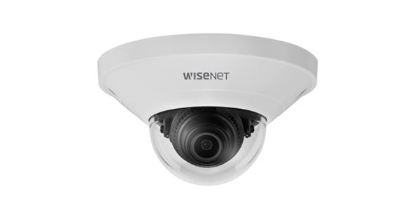 Camera Wisenet bán cầu mini QND-8011/VAP 5MP