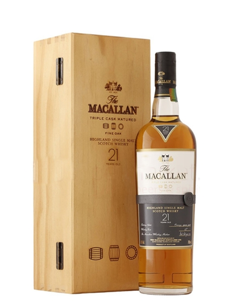 Rượu Macallan 21 years old