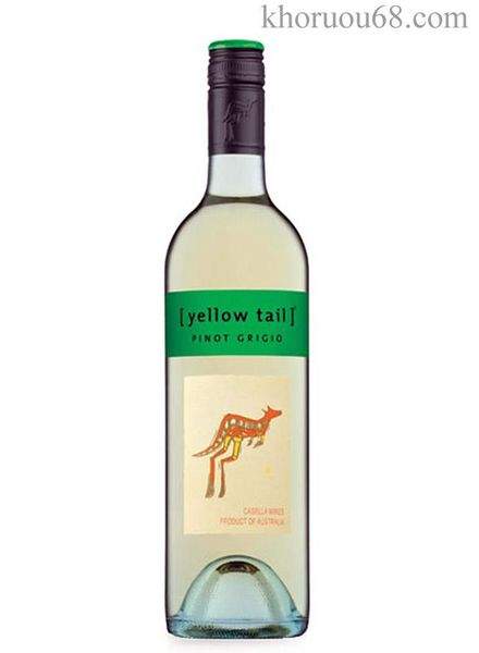 Rượu Vang Yellow Tail Pinot Grigio 75CL