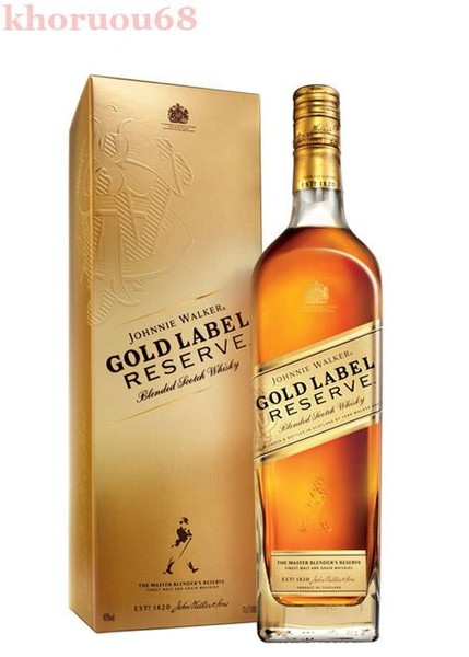 Rượu johnnie walker gold label reserve - Khoruou68.com