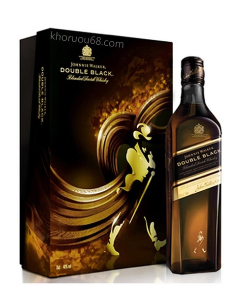 Rượu Johnnie Walker Double Black (Hộp quà)