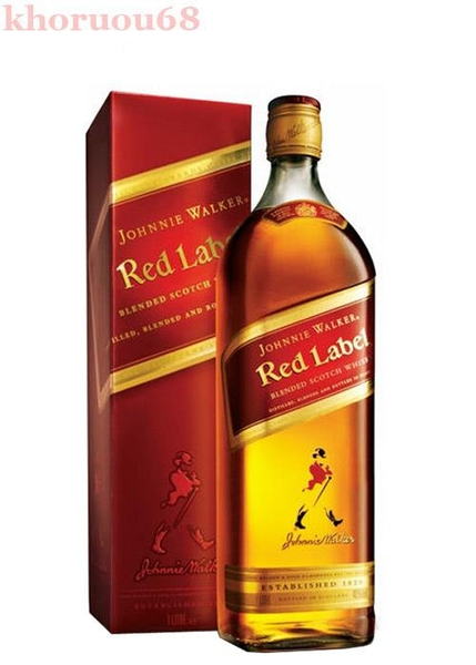 Rượu Johnnie Walker Red Label 750 ml