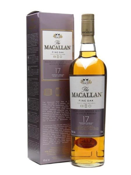 Rượu Macallan 17 years old