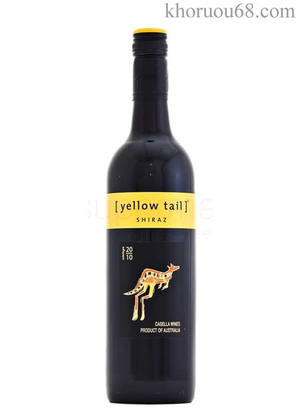 Rượu vang Yellow Tail Shiraz