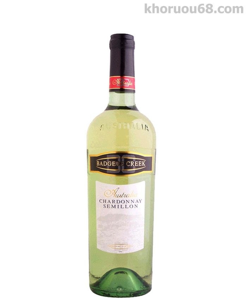 Badgers Creek - Chardonay,Semillion
