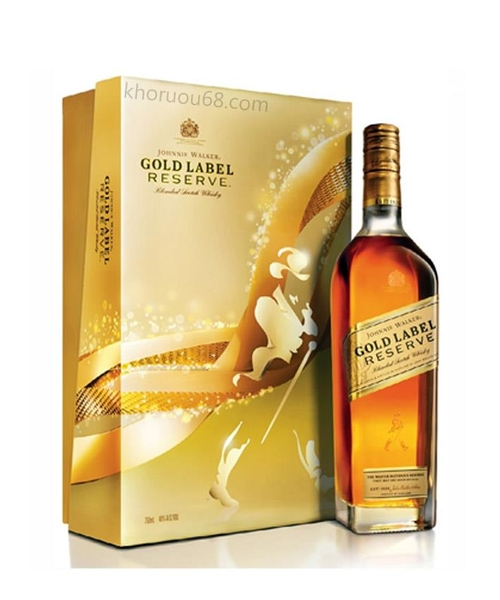 Rượu Johnnie walker gold label reserve ( Hộp Quà )