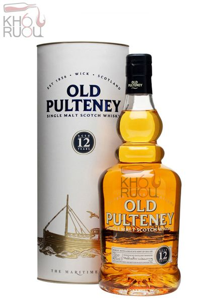Rượu Whisky Single Malt OLD PULTENEY 12 YO