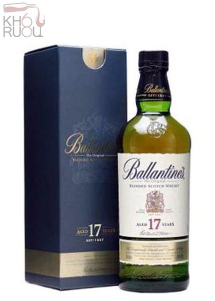 Rượu Ballantines 17 years old