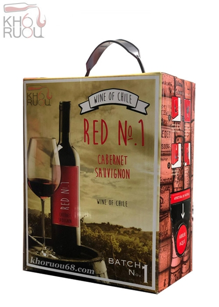 Rượu Vang Bịch ChiLe Red No1