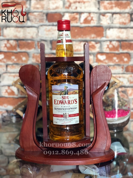 Rượu Whisky Sir Edward's 2L