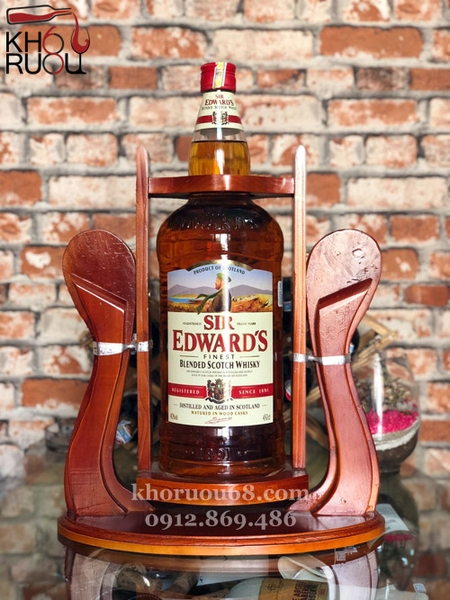 Rượu Whisky Sir Edward's 4,5L