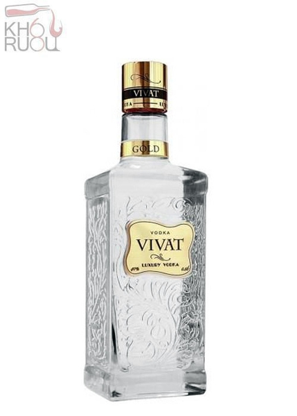 Rượu Vodka Vivat Gold 500ml